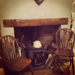 Restoration (re-opening brick fire place)